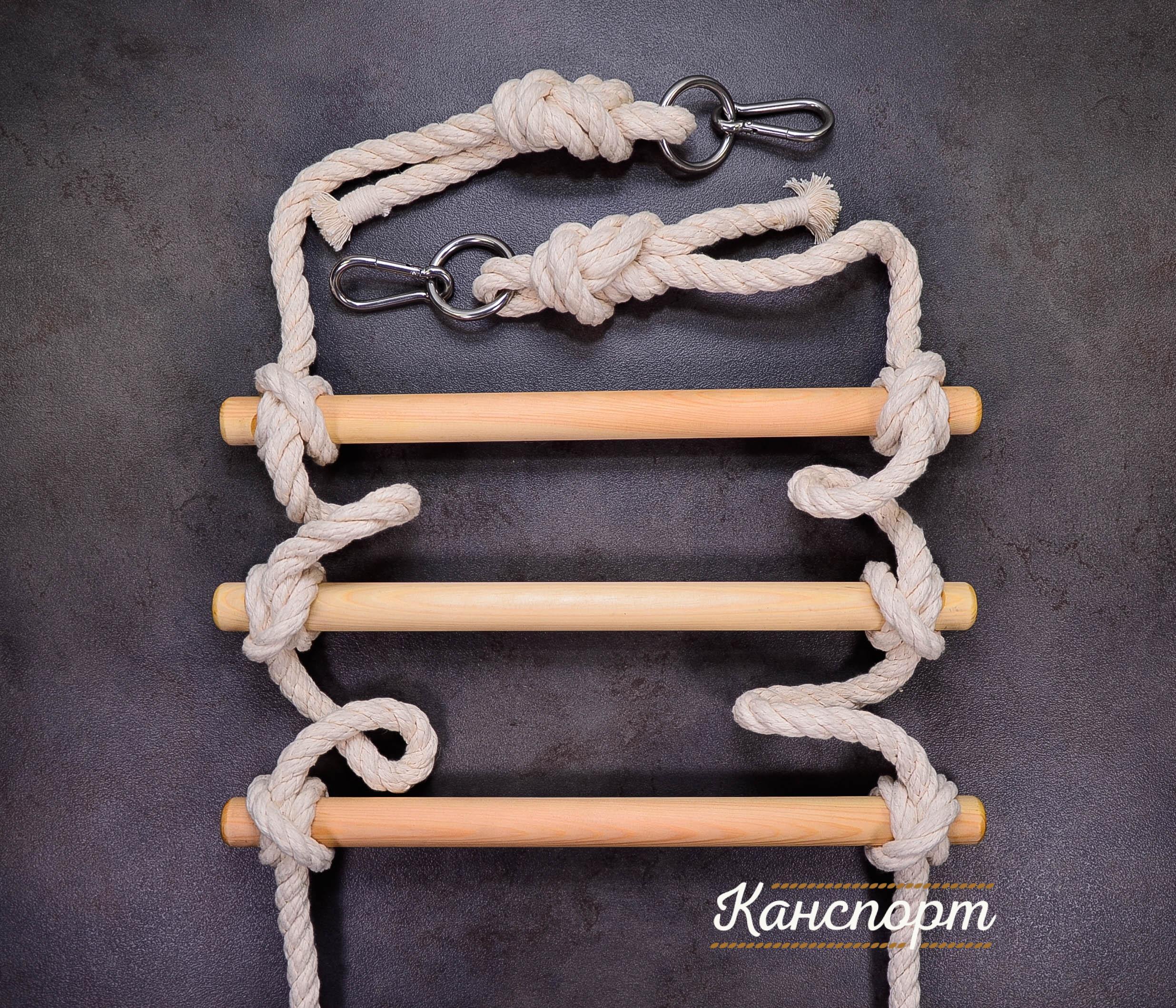 Веревочная лестница своими руками: процесс изготовления и 62