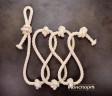 Веревка для лазания Лемур хлопчатобумажная