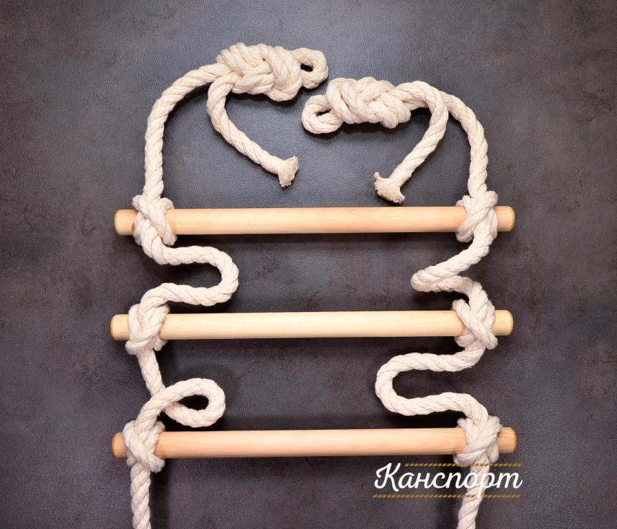 Веревочная лестница хлопчатобумажная