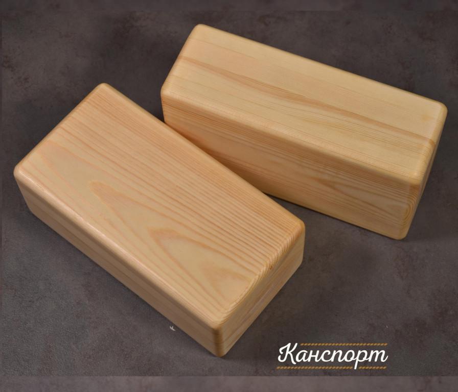 Блок (кирпич) для йоги облегченный 23х12х8см